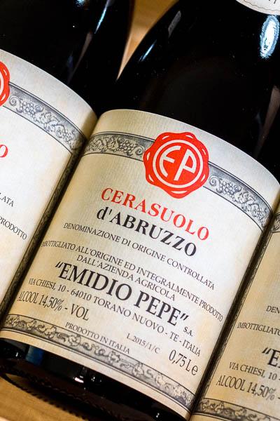 Emidio Pepe Cerasuolo d'Abruzzo 2015