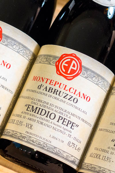 Emido Pepe Montepulciano d'Abruzzo 2014 only on dalluva.com